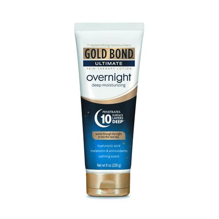 GOLD BOND® Ultimate Overnight Deep Moisturizing Lotion 8oz - Gold Bond Moisturizing Moisturizer
