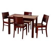 Safsil Seating 5 Piece Bazil Dining Set
