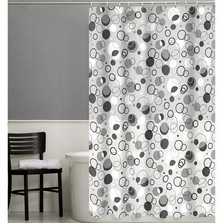 Maytex Ring Toss 13 Piece PEVA Shower Curtain Set