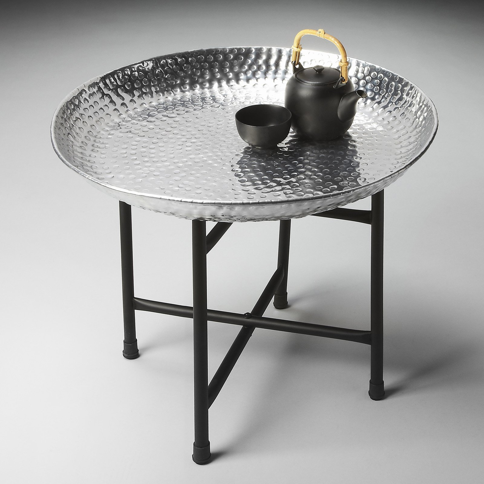 Butler Metalworks Round Tray Table