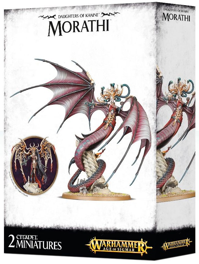 Warhammer Age of Sigmar Daughters of Khaine Morathi Miniature by GAMES WORKSHOP