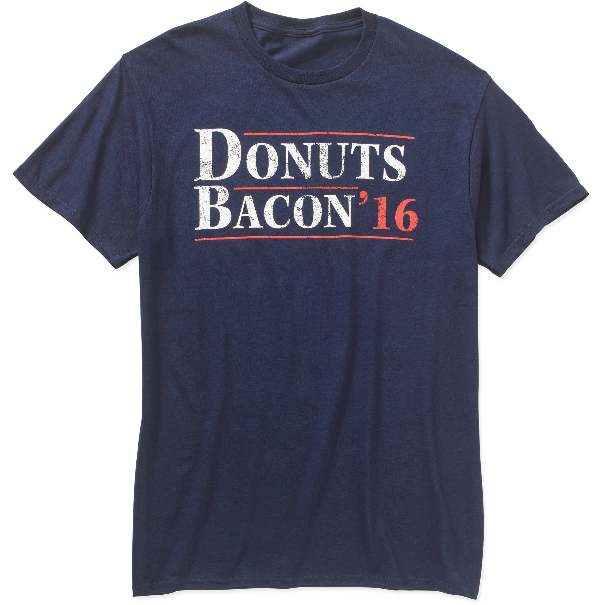 Donuts Bacon '16 Campaign Big Men's Graphic Tee