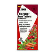 Best Iron Tablets - Salus-Haus Floradix Iron Tablets, 10mg, 80 Ct Review