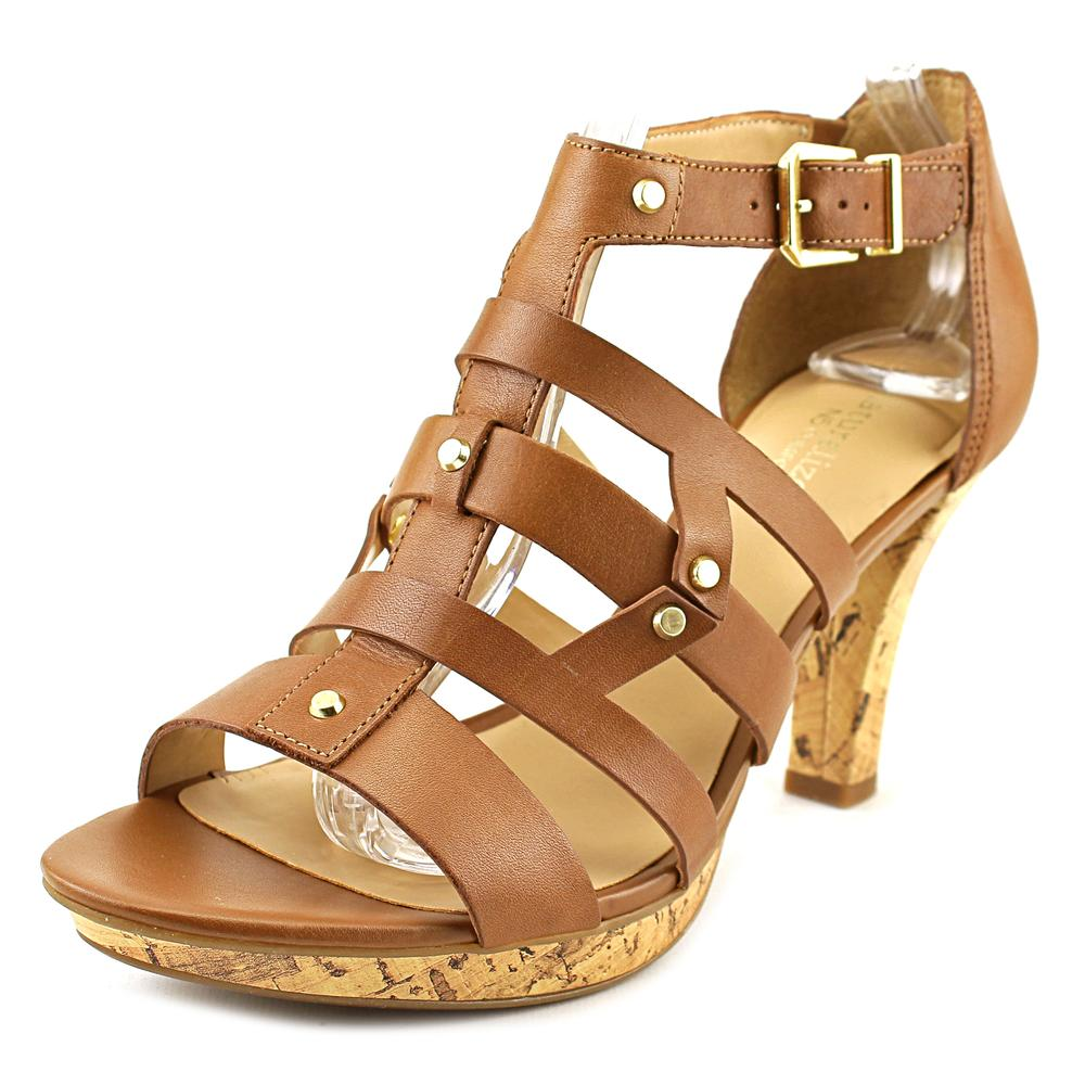 Naturalizer Derive W Open Toe Leather Sandals by Naturalizer