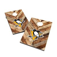 Pittsburgh Penguins 2' x 3' Cornhole Board Tailgate Toss Game
