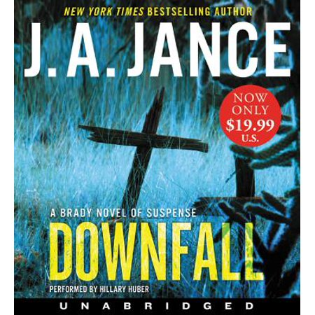 Downfall Low Price CD : A Brady Novel of Suspense](Low Prices Online Shopping)