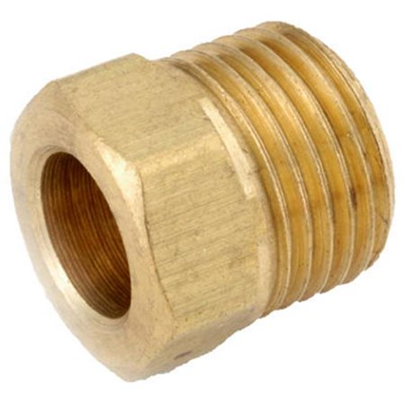 54341-04 0.25 in. Brass Inverted Flare Nut, Pack Of (Inverted Nut)