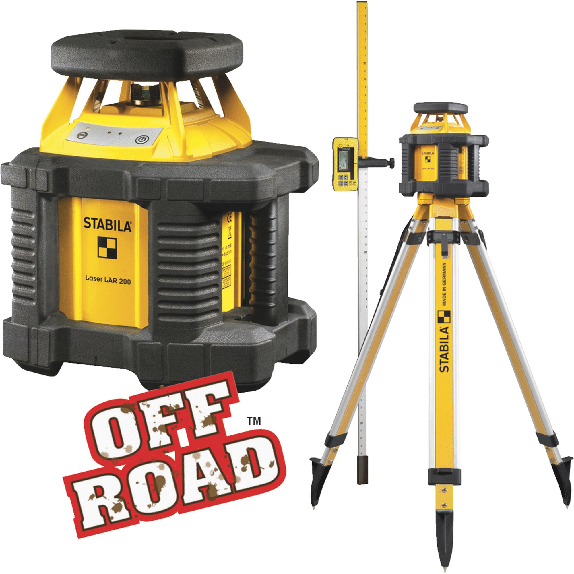 Stabila Off Road Rotary Laser Level by Stabila