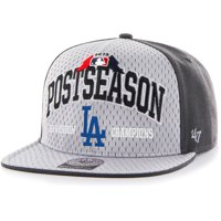 Los Angeles Dodgers '47 2015 NL West Division Champions Locker Room Clincher Captain Hat - Gray - OSFA