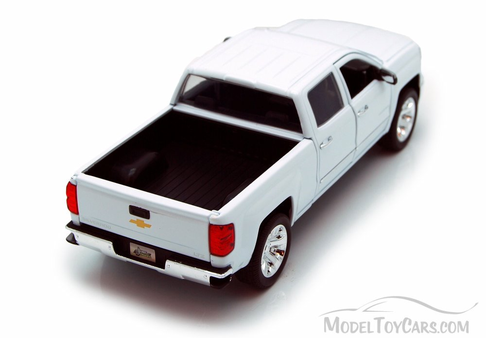 Chevy Silverado Pickup Truck White Jada Toys Just Trucks 97018 1 24 Scale Cast Model Toy Car Brand New But Not In Box