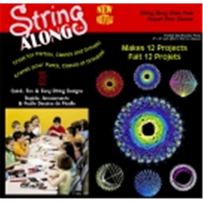 School Specialty Janlynn String Art Classroom Pack - 4 x 4 inch