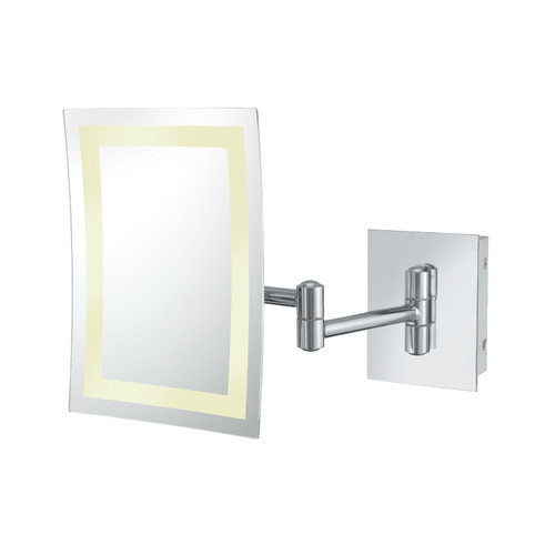 Kimball & Young Kimball & Young Single Sided LED Hardwire Rectangular Wall Mirror