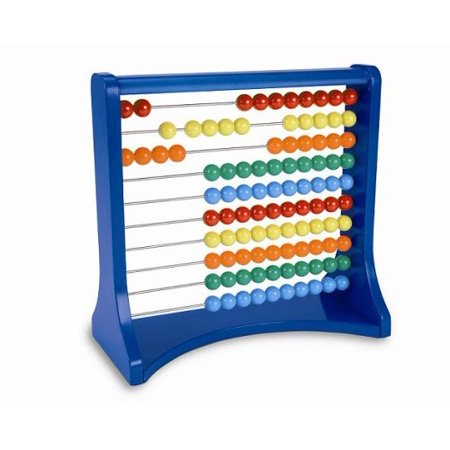 Learning Resources Ten Row Counting Abacus, Learn Addition and Subtraction, Ages (Row Abacus)