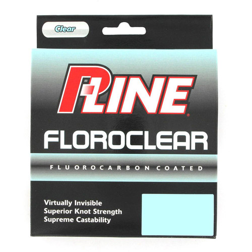 P-Line Floroclear 300 yd Fishing Line
