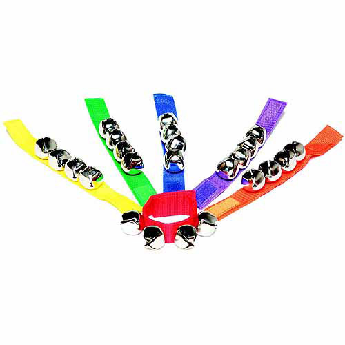 Sportime Jingle Bracelet Set, Assorted Colors, Set of 6
