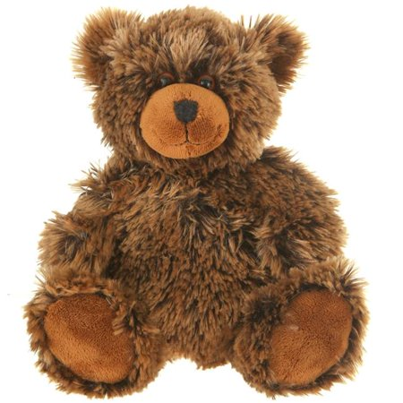 Giftable World A01056 9 in. Plush Shaggy Bear - Brown - image 1 of 1