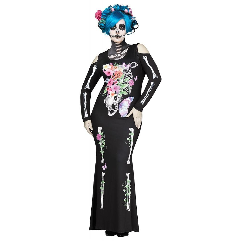 Beautiful Bones Adult Costume - Plus Size 1X