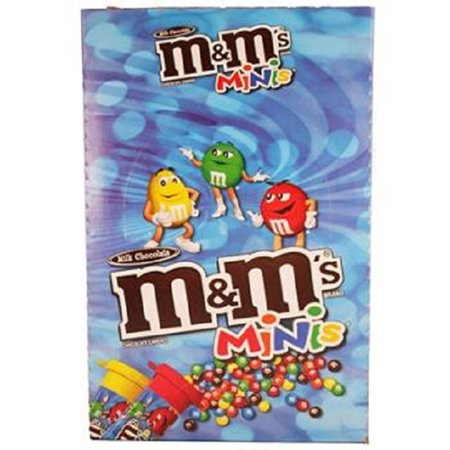 M&M'S Milk Chocolate MINIS Size Candy 1.77-Ounce Tube 24-Count](M&m Fun Size)