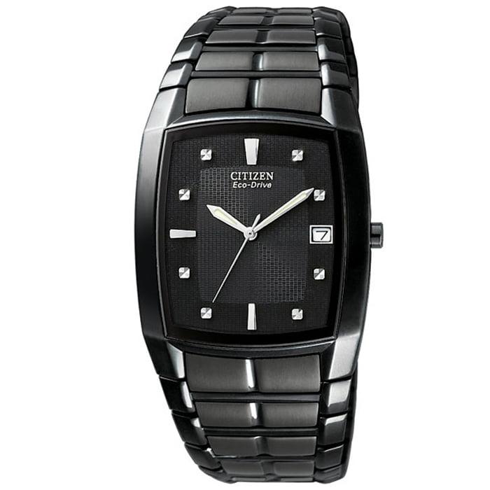 Citizen 180 Collection BM6555-54E 31  Black Steel Bracele...