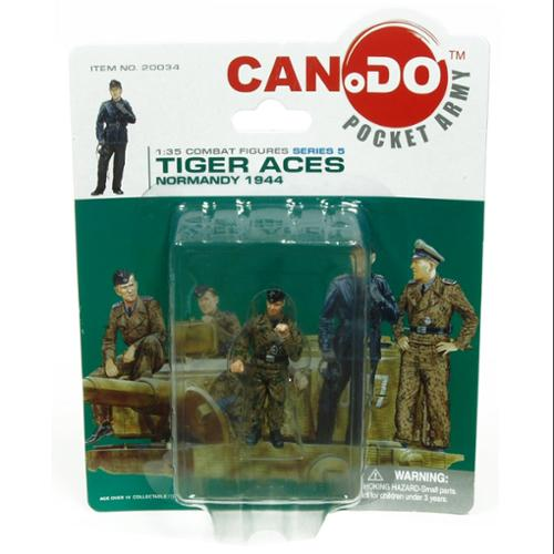 - 1:35 Combat Figure Series 5 Tiger Aces Normandy 1944 Figure B Woll
