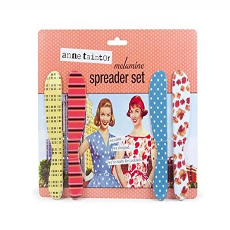 - Anne Taintor Cheese Butter Spreader Set - I Came I Shopped I'm Ready For A Cocktail.
