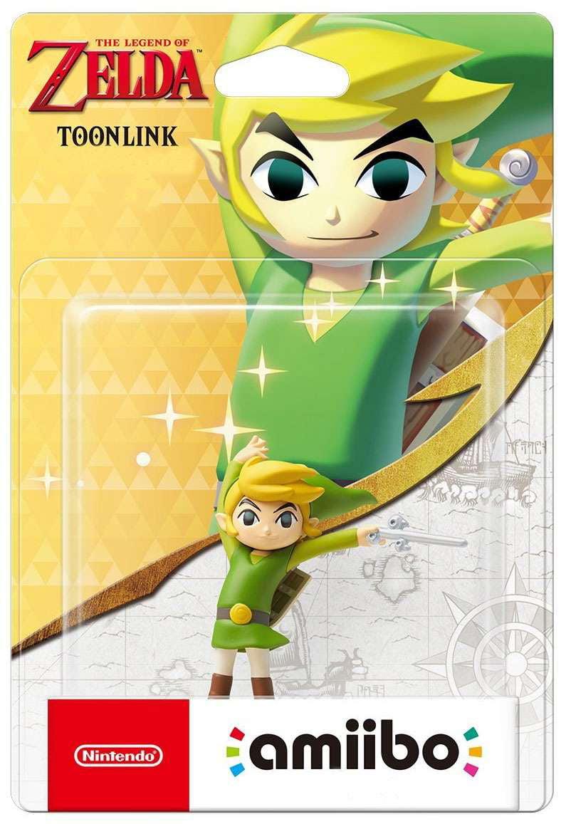 Nintendo Amiibo Toon Link Mini Figure [The Wind Waker] by