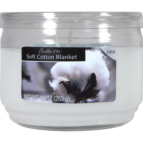 Fortune Products Candle-Lite Soft Cotton Jar Candle (Set of 4)