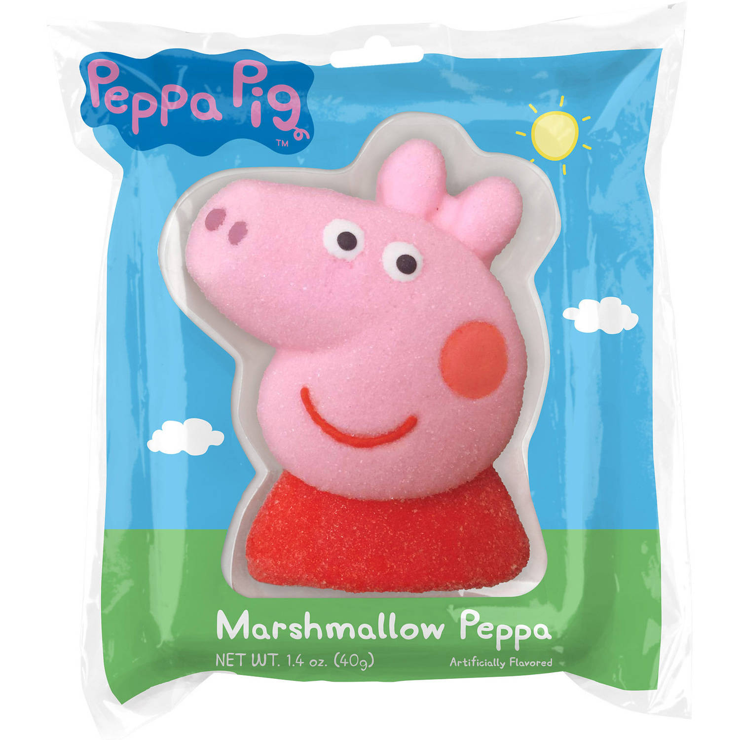 Peppa Pig Marshmallow Peppa,1.4 oz