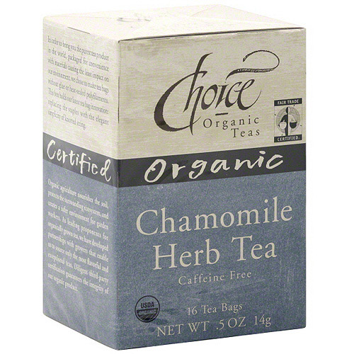 Choice Organic Teas Chamomile Tea, 16ct (Pack of 6)