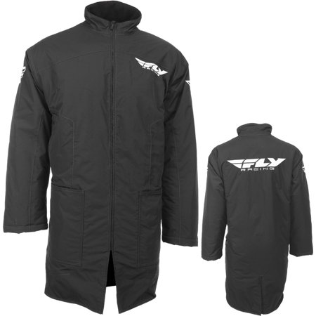 Fly Racing Pit (Fly Racing Black Pit Coat One Size 470-4050 )