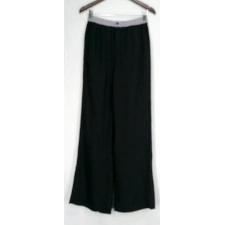 Jennifer Hudson Collection Pants Sz XS Wide Leg Colorblock Style Black (Hudson Deluxe Wide Leg)