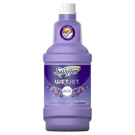 Swiffer Wetjet Multi Purpose And Hardwood Liquid Floor
