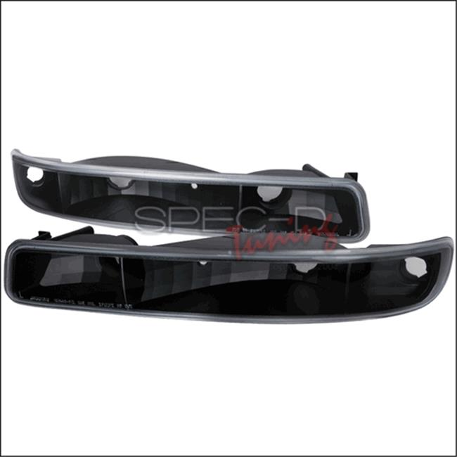 Bumper Light Black Housing for 99 to 05 GMC Sierra, 10 x 12 x 18 in.