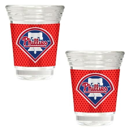 Philadelphia Phillies 2018 Players' Weekend 2-Piece Party Shot Glass Set - No Size