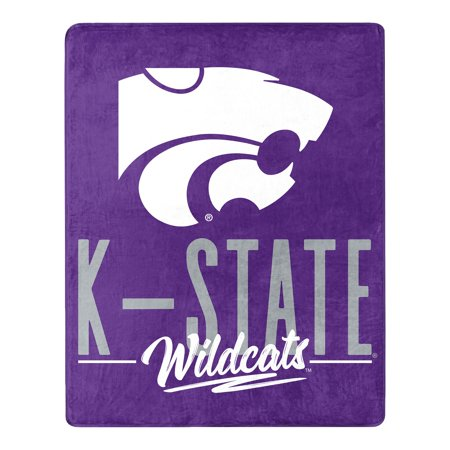 Kansas State Wildcats The Northwest Company 55'' x 70'' Triumph Silk Touch Throw - Purple - OSFA Ncaa Kansas State Wildcats Pattern
