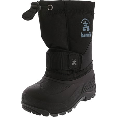 Kamik Rocket Black Mid-Calf Snow Boot - (Kamik Snow Boots)