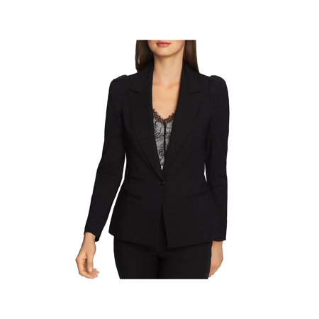 1.State Womens Fitted Office One-Button Blazer