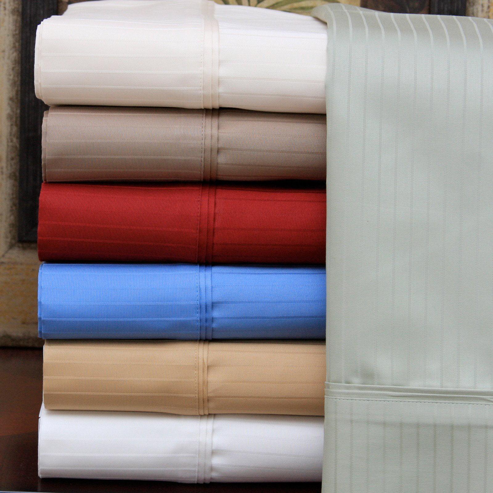 Luxor Treasures 1000 Thread Count Stripe Duvet Cover