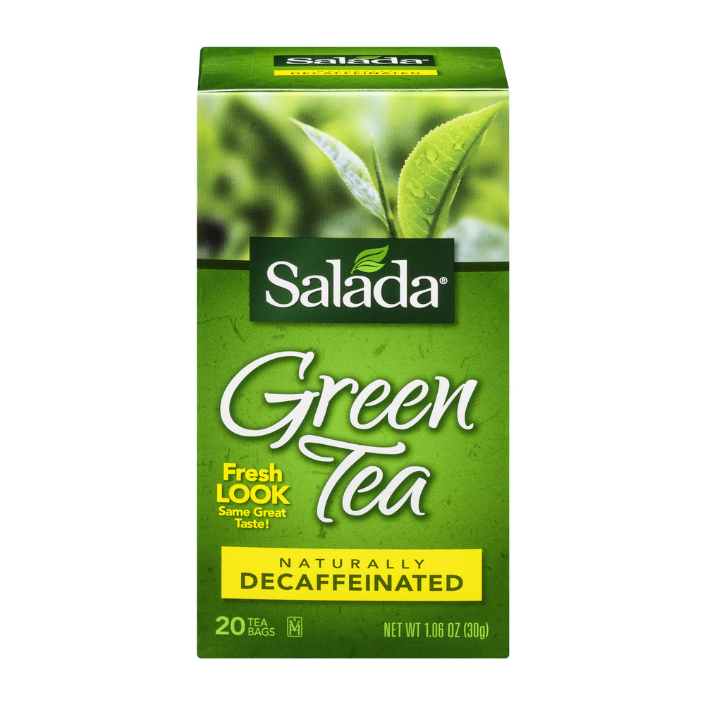 Salada Green Tea Bags Decaffeinated - 20 CT