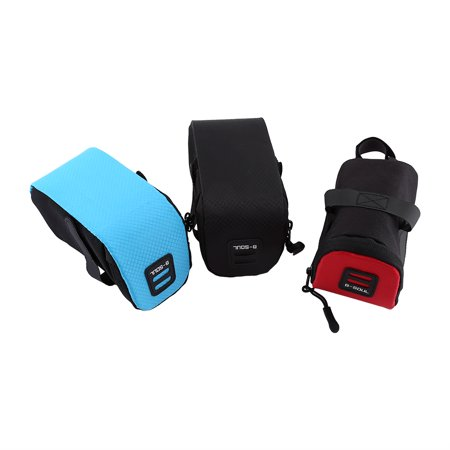 Dilwe B-Soul Super Light Bike Rear Saddle Cycling Seat Bag Tail Pouch Package Under-Seat Storage Bag, Seat Pouch, Tail Rear (Seal Tail)