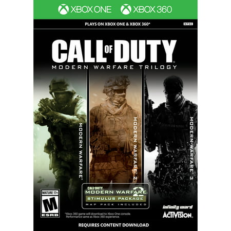 Call of Duty: Modern Warfare Trilogy, Activision, Xbox 360/Xbox One, (Call Of Duty Modern Warfare 2 Pc Controller)