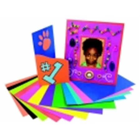 Colored Card Stock (Roylco Paper 8 In. Colored Card Stock, Pack Of)