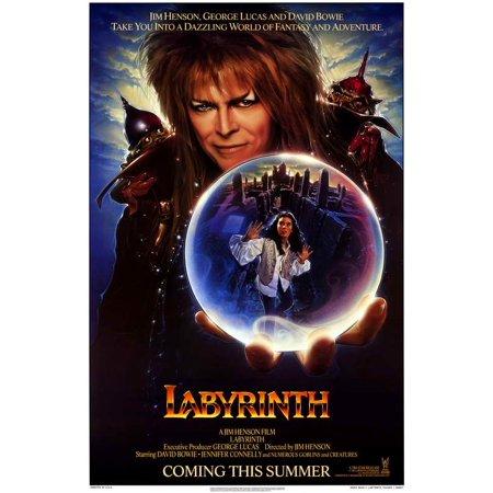 Labyrinth POSTER Movie B Mini Promo - Labyrinthe Halloween