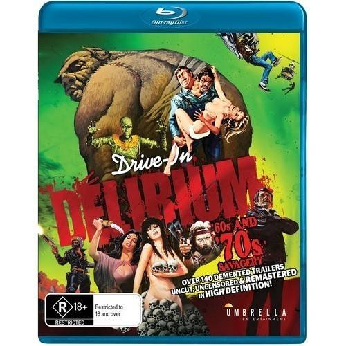 Drive In Delirium: Hi Def Hysteria - 60s & 70s Savagery (Blu-ray)
