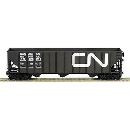 Bowser Ho Scale 100 Ton 3 Bay Coal Hopper Canadian National Cn Black  326005