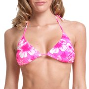 Juniors Hibiscus Island Classic Triangle Bikini Top