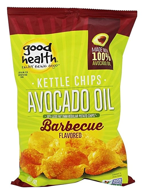 Good Health Natural Foods Avocado Oil Kettle Chips Barbecue 5 oz. by Good Health Natural Foods