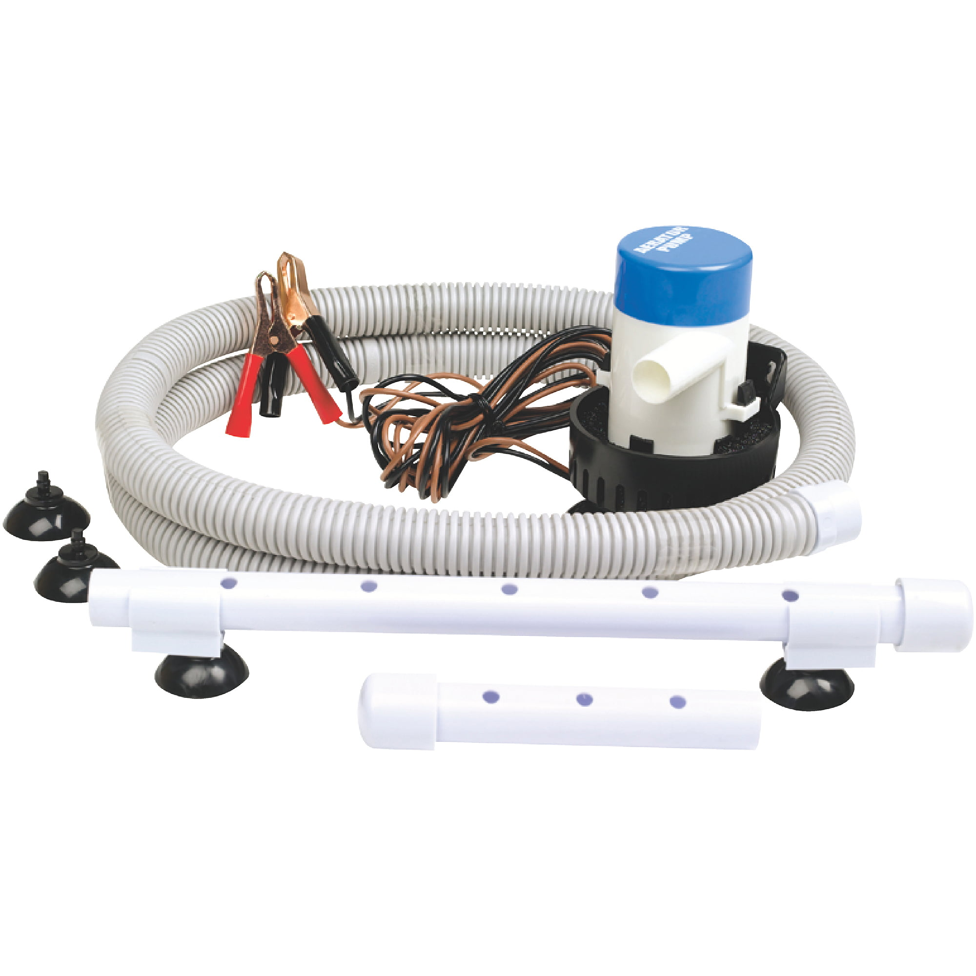 "Click here to buy Seachoice 12V Aeration Pump System 360 GPH with 3 4"" Outlet by Seachoice Products."