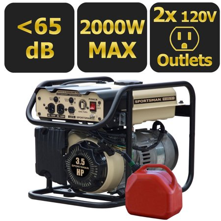 Sportsman Sandstorm Gasoline 2000-Watt Portable