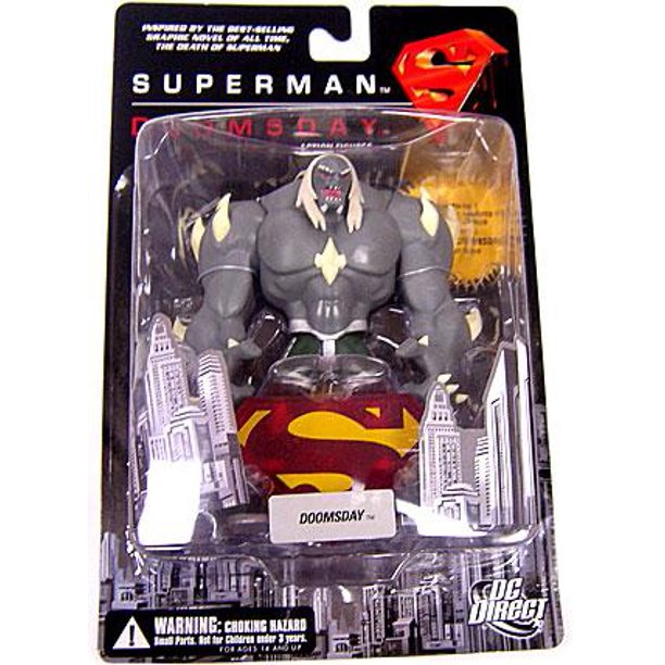 Dc Superman Doomsday Doomsday Action Figure Walmart Com